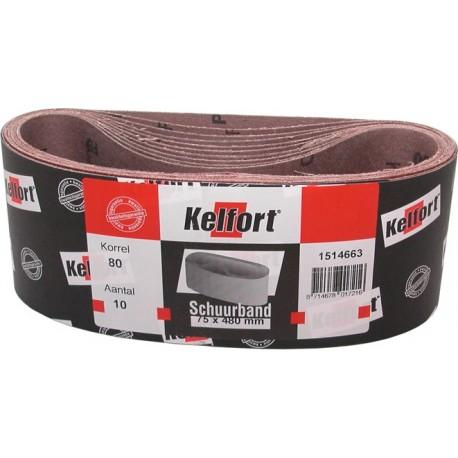 10 St Schuurband 75x480 mm K80