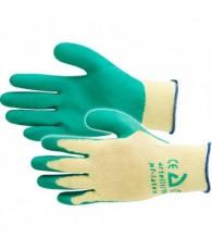 Werkhandschoen Groen maat 9/L