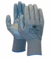 Handschoen blauw /foam nitril maat 11/XXL