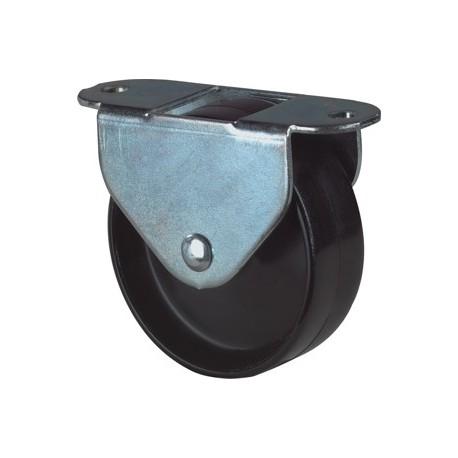 Bokwiel kunststof 25mm