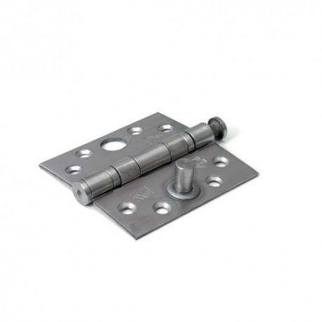 Kogellagerscharnier DX recht 89x89mm RVS SKG