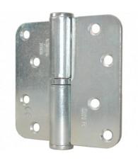 Oxloc Kogelstiftpaumelle rond 89x89mm RVS L